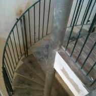 Spiral railing