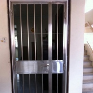 Stainless steel gate & grilles