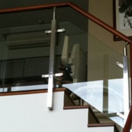 Stainless steel railing & glass railing
