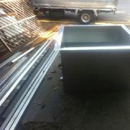 Stainless steel work