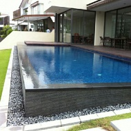 Swimming pool work
