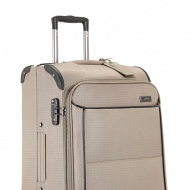 MIMAS-4W-MEDIUM-EXP-ROLLERCASE-TAUPE-Front-Left