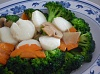 Broccoli w/Scallop (Large)   西兰花炒带子(大)