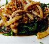 Kangkong W/Cuttlefish (Small)马来风光炒鱿鱼(小)