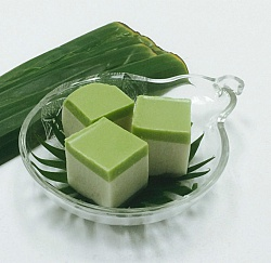 Thai Pandan Coconut Jelly