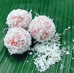 Ondeh Ondeh Kachang (Red Bean)