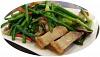Roasted Pork with Garlic Steam (蒜花炒烧肉) (Medium)
