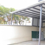 add to awning, roof structure