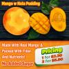 Mango With Nata Pudding (3 packets)    芒果奶酪布丁 (3份)