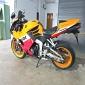13 Honda CBR600RR with Akrapovic exhaust