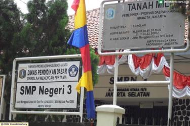 SMPN 3 Jakarta @ Jalan Manggarai Utara 4