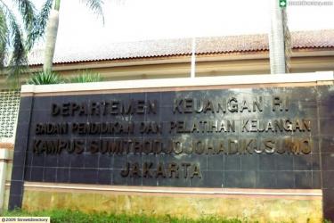 Badan Pendidikan Dan Pelatihan Keuangan Departemen Keuangan @ Jalan Punawarman