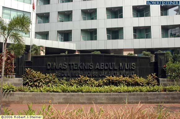 Jakarta Guide Images Of Dinas Teknis Abdul Muis