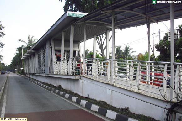 Jakarta Guide Jakarta Images Of Departemen Pertanian Busway Bus Stop