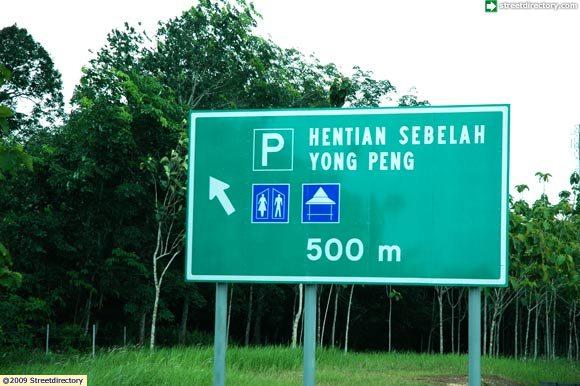 Hentian Sebelah Yong Peng 500 m