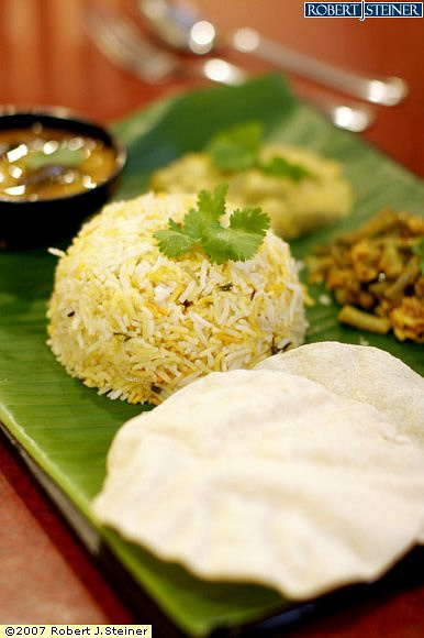 Vegetarian Briyani Set