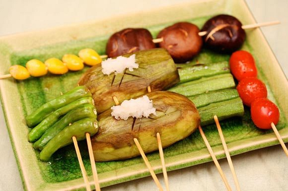 05) Grilled Assorted Vegetables