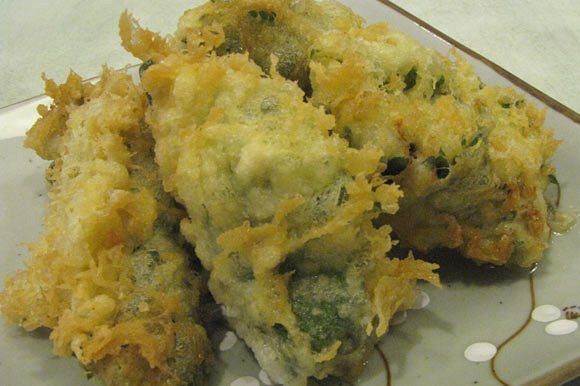 06) Oysters Tempura