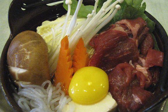09) Sukiyaki Beef Set