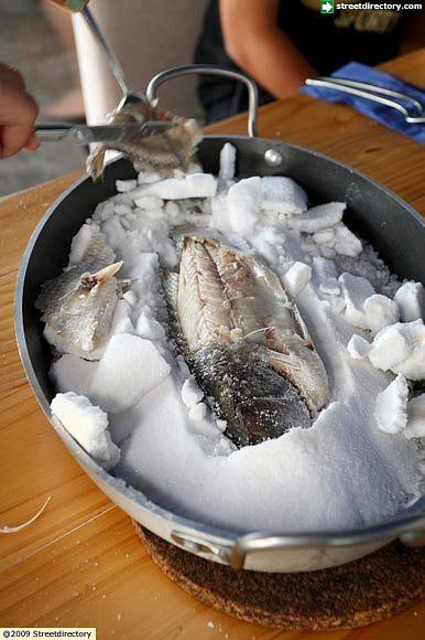 Lubina a la Sal
