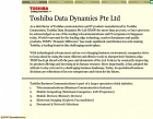 Toshiba Data Dynamics Photos