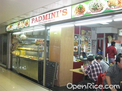 Padmini's Restaurant Pte Ltd