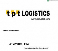Tpt Logistics Photos