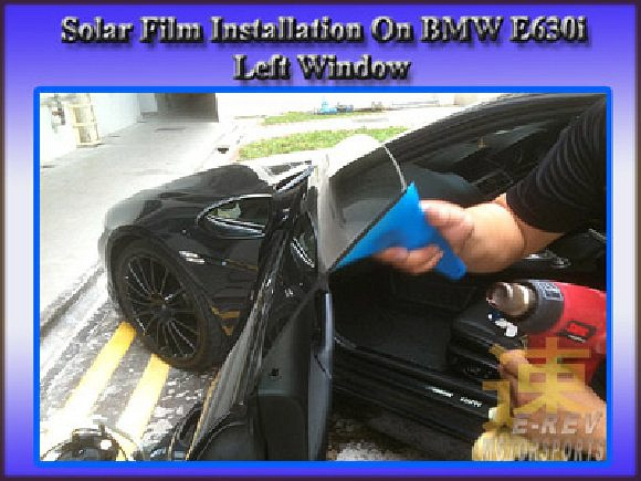 Installation of solar film