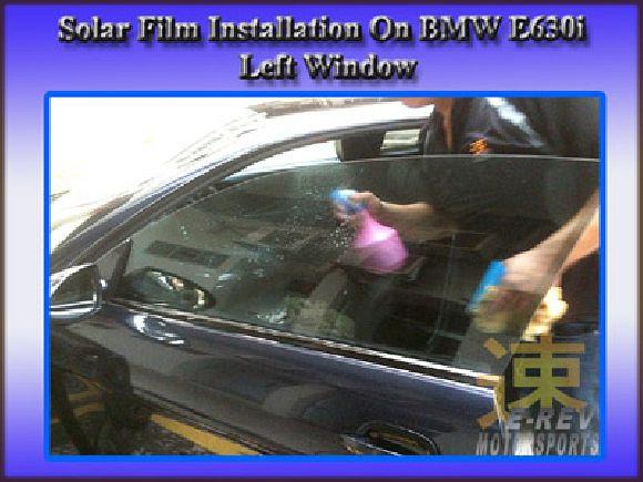 Preparation of solar film