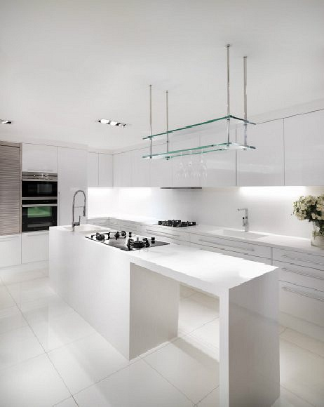 Kitchen Cabinets-Vivant Kitchen- White
