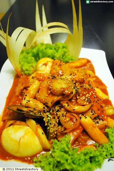 12) Seafood Ddukbokki