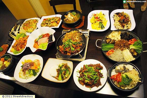15) Korean Food