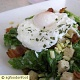 Salad with Poached Egg