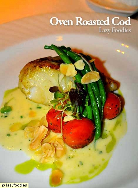 oven roasted cod