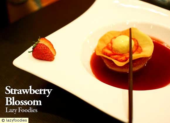 strawberry blosom
