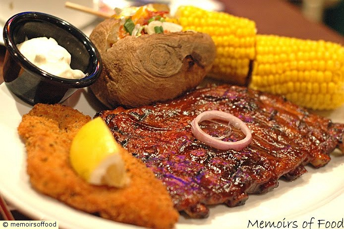 Fish Fillet and Half Rack Ribs