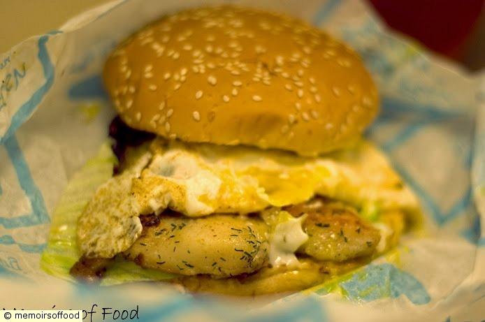 Grilled Fish Burger