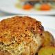 Mustard Crusted Pork Loin Steak