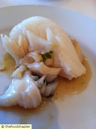 Steamed Marble Goby with Superior Soy Sauce