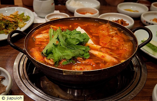 HEARTY POT OF KOREAN SEAFOOD STEW