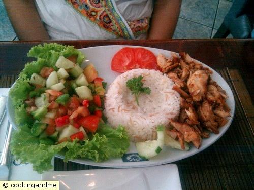 Erika's Doner Kebab Rice