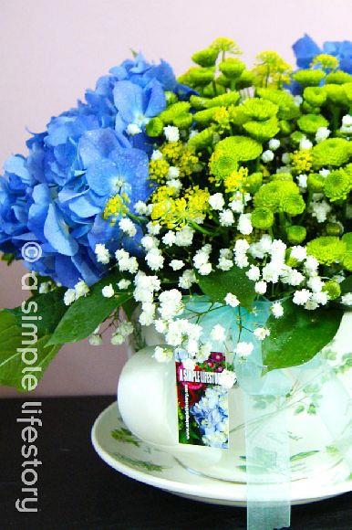 bespoke table arrangement floral design service