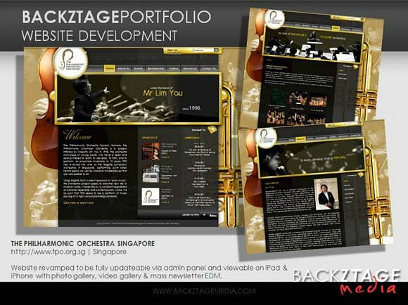 Corporate Website - The Philharmonic Orchestra Singapore (TPO)