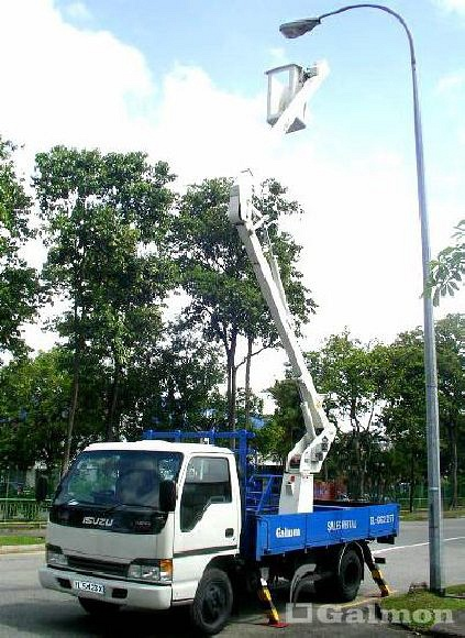 Galmon (S) Pte Ltd   Galmon Truck Mounted Lift www.galmon.com T: +65 6862 2277
