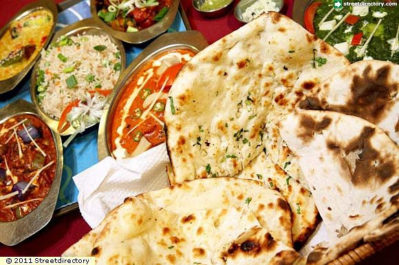 Naan and Bread