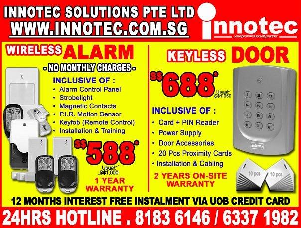 Innotec Solutions Pte Ltd (Paya Ubi Industrial Park)