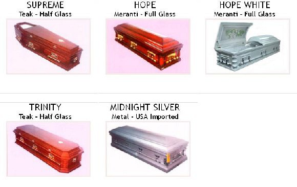 Our Beautiful Caskets