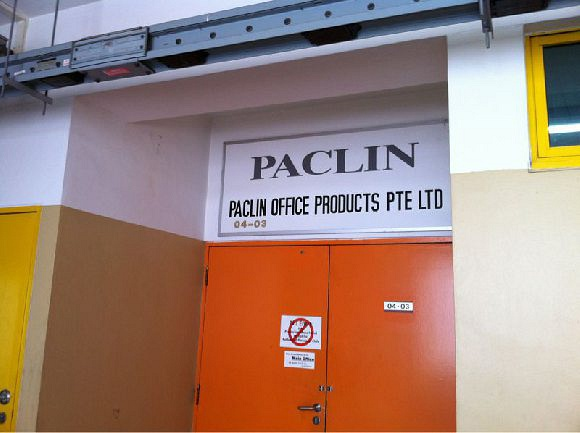 Paclin Office Products Pte Ltd (Ubiplex I)