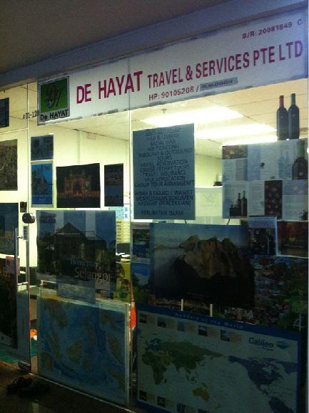 De Hayat Travel & Services Pte Ltd (Grandlink Square)