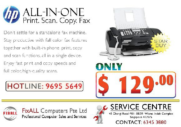 HP OfficeJet J3608 PRINT,SCAN,COPY,FAX @ $129.00 ONLY!!! *while stock last